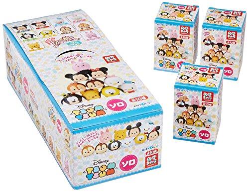 ensky Disney Tsum Tsum Nos-35Nosechara Blind Box Solo Squishable Figurines (Random Box Lot de 10)