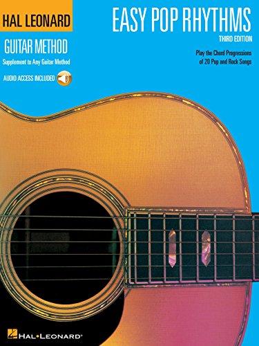 Easy Pop Rhythms: Correlates with Book 1 (Hal Leonard Guitar Method) (English Edition)