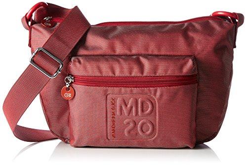 mandarina-duck-damen-md20-minuteria-umhangetaschen-rot-tango-red-13m-15x2x10-cm