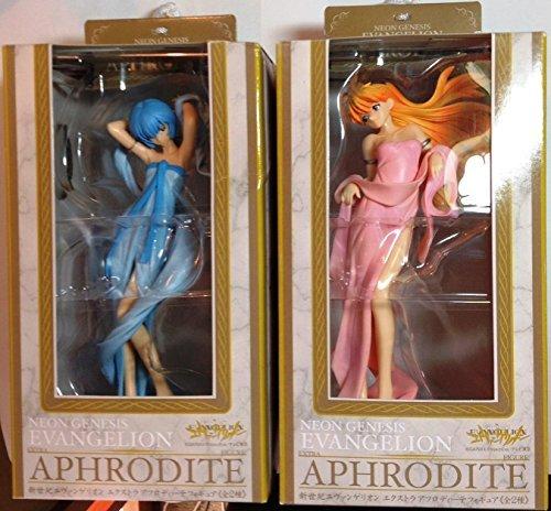 All two Neon Genesis Evangelion Extra Aphrodite figure (japan import)
