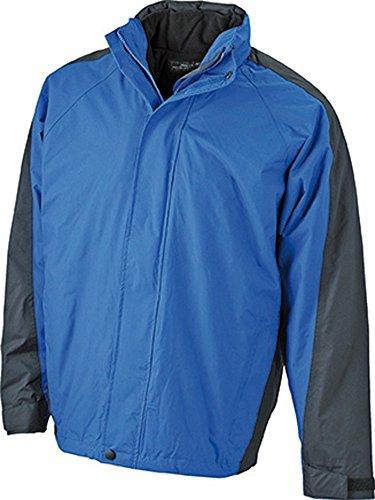 JN170 Two-In-One Jacket Multifunktionale Doppel-Jacke mit auszippbarer Fleecejacke royal-black