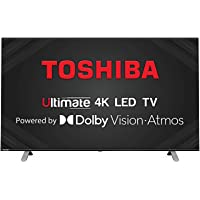 Toshiba 108 cm (43 inches) Vidaa OS Series 4K Ultra HD Smart LED TV 43U5050 (Black) (2020 Model)   With Dolby Vision and…