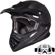 Casco De Motocross Fibra De Carbono Fuera De Carretera Cascos De Moto Certificación Ece Mx Atv Quad Dirtbike Casco Integral Para Motocicleta Kawasaki ...