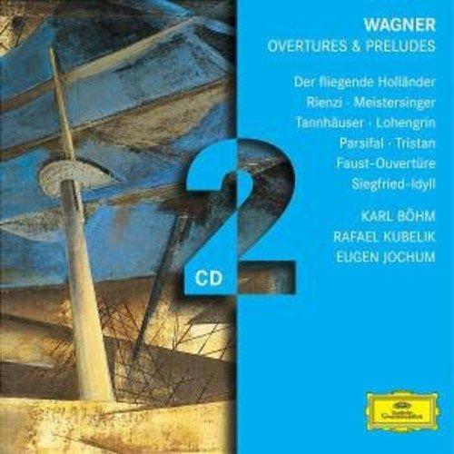 Wagner : Ouvertures et préludes (Coffret 2 CD)