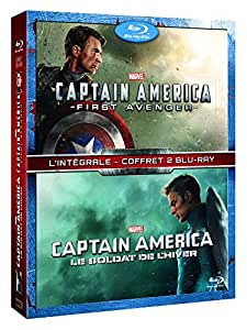 Captain America : The First Avenger + Le soldat de l'hiver [Blu-ray]