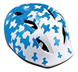 MET Kinder Fahrradhelm Buddy, Blue Airplanes, 46-53 cm, 3HELM19UNBB