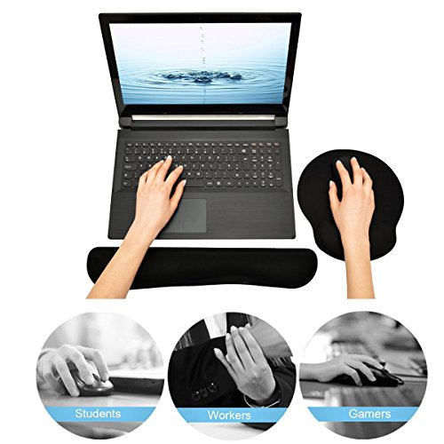 keyboard-and-mouse-wrist-rest-pads-non-slip-rubber-base-soft-wrist-cushion-pad-with-memory-foam-by-d