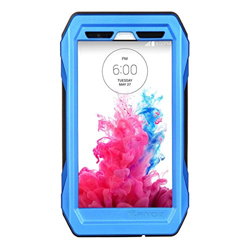 Forhouse LG G3 Warerproof Case, Water Resistant case with Screen Protector for LG G3, Sport Exercise Running Hiking, Etc Blue