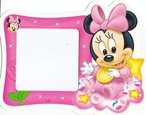 Sticker pour interrupteur brillant dans le noir Motif Minnie Mouse