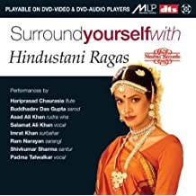 Surround yourself with Hindustani Ragas (DVD Audio)