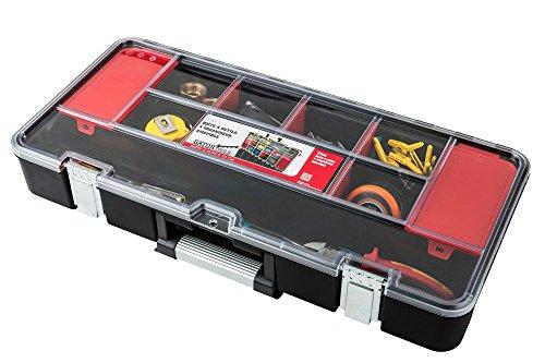 Toolbox Werkzeugkoffer mit Organizer Werkzeugkiste 610x289x255 mm - 3
