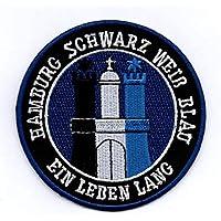 Hamburg - Aufnäher, Bügelbild, Stickbild, Iron on Patch