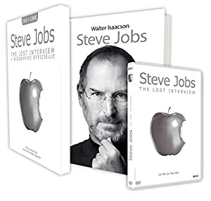 Coffret Steve Jobs, The lost interview + Biographie Officielle - Edition limitée [+ 1 Livre]