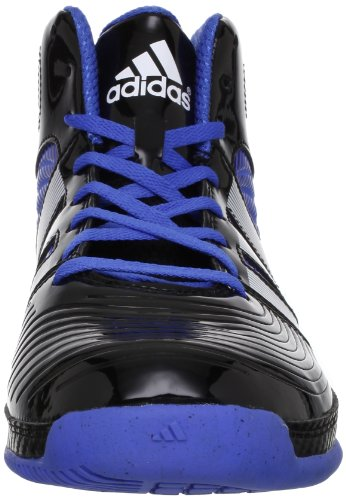 adidas Commander Td 4, Chaussures de basketball homme Noir (Black/White/Blast Blue)