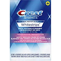 Crest 3D White Whitestrips Gentle Routine Teeth Whitening Kit, 28 Strips, 14 Treatments