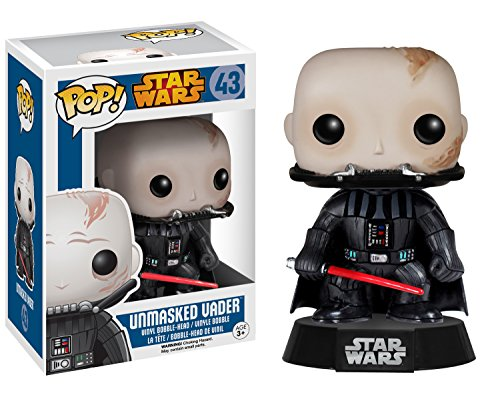 Funko Pop Darth Vader sin máscara (43) Funko Pop Star Wars