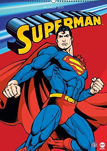 Kostüm Und Superman Kryptonit - SUPERMAN Posterkalender (Wandkalender 2015 DIN A2 hoch): Für alle Fans von SUPERMAN! (Monatskalender, 14 Seiten)