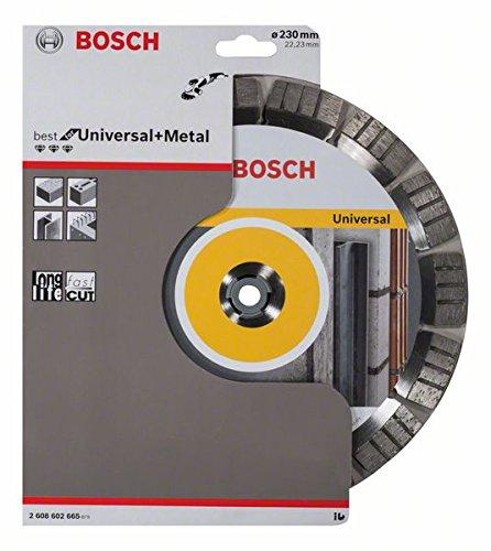 Preisvergleich Produktbild Bosch Diamanttrennscheibe Best for Universal and Metal, 230 x 22,23 x 2,4 x 15 mm #2608602665
