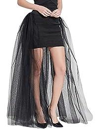 d48a81090e VJGOAL Mujer Verano Moda Casual Color sólido Falda de Tul Princesa Falda  Burbuja Falda de Fiesta