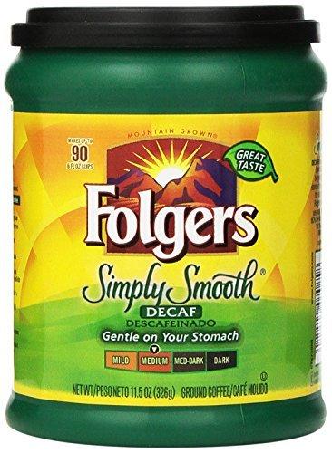 folgers-simply-smooth-decaf-medium-roast-ground-coffee-326g-tub