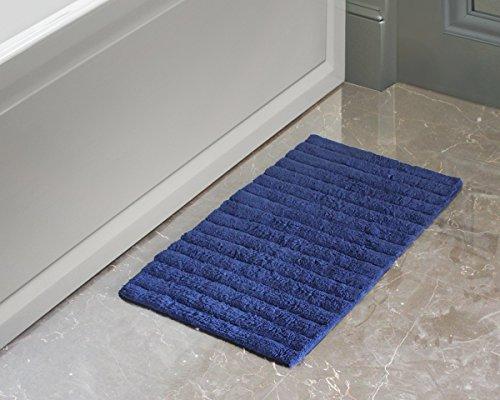 Store Indya, 100% Baumwolle Rutschfeste Badematte Teppiche Ultra Soft Super saugfähige Hand getuftet Bodeneingänge Outdoor Indoor Haustür Matte Teppich