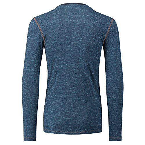 LEVIS 300LS Tri-Blend Long Sleeve HENLEY Langarm Shirt 3er Pack blue jeans (599)