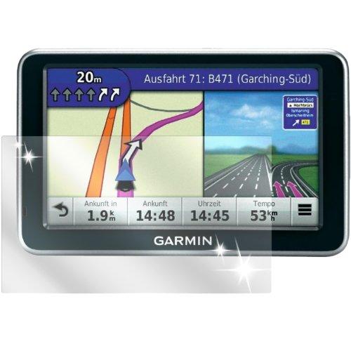 dipos I 2x Schutzfolie klar passend für Garmin nüvi 150T Folie Displayschutzfolie (Garmin Nüvi Motorrad)