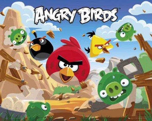 empire-521828-angry-birds-destroy-videospiel-app-mini-poster-druck-grosse-50-x-40-cm