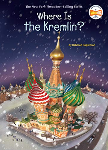 Where Is the Kremlin? (Where Is?) (English Edition)