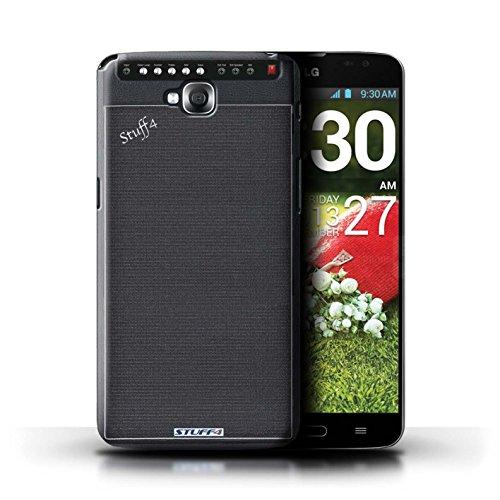 Kobalt® Imprimé Etui / Coque pour LG G Pro Lite/D680 / Autoradio conception / Série Haut-Parleur dessin Amplificateur
