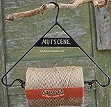 Gartenschnur von Nutscene 160 Meter auf Bügel - Biogarn - nachhaltig hergestellt und biologisch abbaubar - Twine Hanger Dispenser