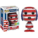 Peanuts POP! Television Vinyl Figura Patriotic Snoopy SDCC 2016 Exclusive 9 cm