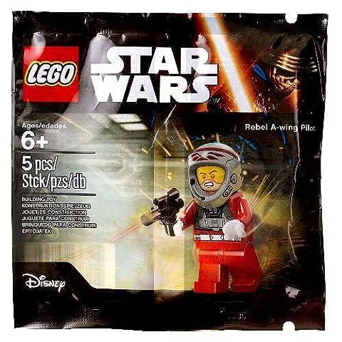 LEGO Star Wars Rebel A-Wing Pilot 5004408 Minifigur im Polybag (Lego Star Wars A Wing)