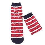 Selou Damen Socken 3D Gedruckt Weihnachten Socks Weihnachten Geschenk Baumwolle Strümpfe Christmas Design Warm Socken
