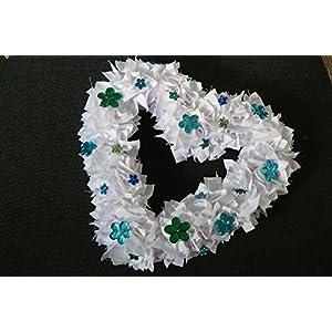 Unikat handmade Herz Flower-Pow