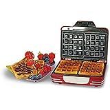 Ariete 187Waffle Maker Party Time máquina para gofres Color Rojo