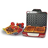Ariete 187 Waffle Maker Party Time Waffeleisen Rot