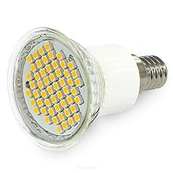 SMD SPOT E14 230V HI-POWER 54 SMD´s LEUCHTMITTEL LED LAMPE lux.pro® NEUHEIT