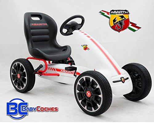 Babycoches Kart Coche de Pedales Fiat Abarth,...