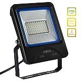LEDGLE 35W LED Strahler Außenstrahler LED-Flutlicht 2800 Lumen (ersetzt 300W Halogenlampen), IP66 Wasserdicht,6000K