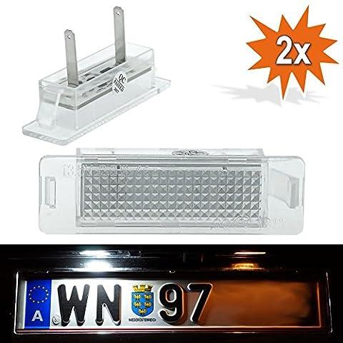 Do. LED J07Plaque Minéralogique à LED pour Opel Astra F