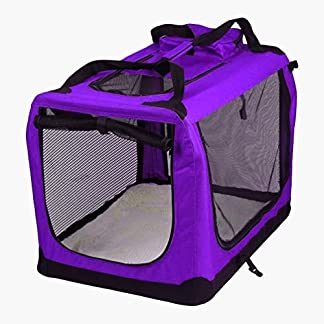 AVC Portable Soft Fabric Pet Carrier Folding Dog Cat Puppy Travel Transport Bag 51d P7be 2BYL