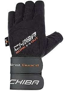 Chiba Wristguard II Gants d'entraînement Noir Taille XS