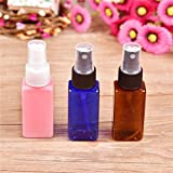 Liberty 7 Colors High-Grade 50Ml Empty Pet+Pp Spray Bottle Easy To Carry For Travel Refillable Make Up Mini Bottle...