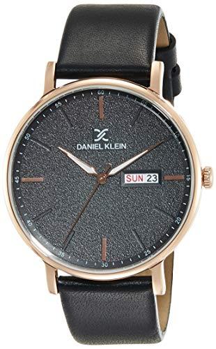 Daniel Klein Analog Black Dial Men's Watch-DK11825-3