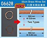 Master Tools 06628Model-Making Accessory Brass Wire Kit, 55cm