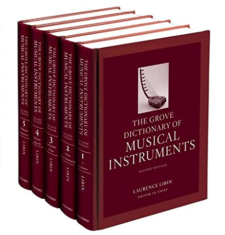 The Grove Dictionary of Musical Instruments: 5-Volume