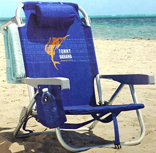 Tommy Bahama Rucksack, isoliert, 5 Positionen, blau (Rio Rucksack Stuhl)