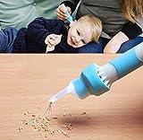 ZGYQGOO Strumento per la rimozione del cerume Elettrico, pulitore per cerume Elettrico a Testa Morbida sotto Vuoto con Luce a LED per Bambini, Neonati e Adulti