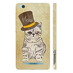 Enthopia Designer Hardshell Case Cat out of the hat Back Cover for Xiaomi 4i
